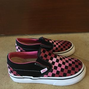 Vans Shoes - Classic Slip-On Checkerboard